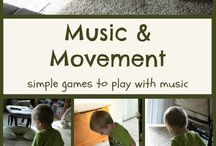 MUSIC AND MOVEMENT IDEAS / by Christine Ryan