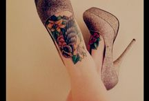 tattoo love / by Melissa Guedes - vintage + little