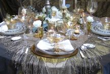 TABLESCAPES / Tablescapes I Love / by Teresa Powell