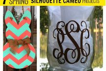 Silhouette Cameo projects / by Laura Lindsey-Canan