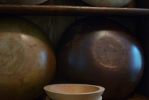 Primitive wooden Boxes, Buckets and Bowls / by Susan Floyd