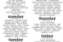 Cleaning and Organization / by Jennifer Robertson Gomez