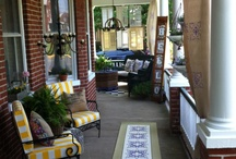 Outdoor Living Spaces / by Tuscan Blue Design