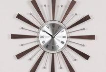 George Nelson Style Sunburst clocks / by Tracy Beckerman