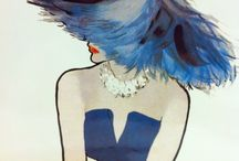 Fashion Illustration / Fashion Illustration is Art!!! With this board I hope to celebrate all these wonderful Artists and thank them for giving us so much beauty!!! / by Agnes Bloore