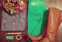 My Fall Wardrobe  / by Melissa B