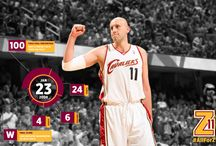 "#AllForZ / We're counting down to March 8th when Zydrunas Ilgauskas' No.11 jersey will be raised to the rafters!   Join us by sharing your memories of Beloved Big ""Z"" by uploading your own photos or comments. / by Cleveland Cavaliers"
