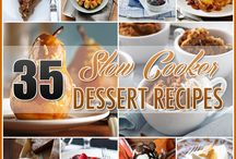 Slow Cooker Dessert Recipes / by Andrea Cammarata