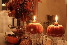 Fall decorating / by Betsy Feldmann