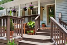 Exterior entrance ideas / by Renee Elder