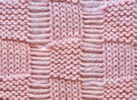 In stitches / Interesting knit stitch designs / by Jill Tarabar