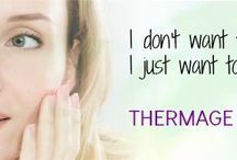 Thermage Skin Tightening / Tighten skin, anywhere on your body, without surgery or injections! Thermage Skin Tightening treatments utilizes carefully controlled RadioFrequency energy to stimulate collagen production -- resulting in tighter, firmer skin.  / by About Face Skin Care { Philadelphia }