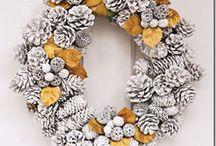 wreaths / by Christine Bugarewicz