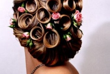 Hair / hairstyles that I found to be very pretty or cool and makeup styles and colors I liked  / by Leslie Warner