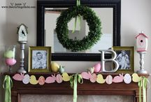 Easter Decor Ideas / by Becky Wheat Hassel
