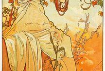 Alphonse Mucha / by Michael Bailey