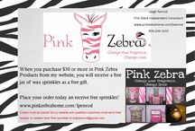 Pink Zebra Wax Sprinkles / by Heartfelt Perfections Shop