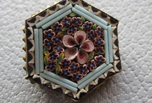 Italian micro mosaic jewelry / by Retha Venter