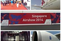 Singapore Airshow 2014 / Relive the excitement and news from the Singapore Airshow 2014, as visitors get a closer view of the Qatar Airways 787 Dreamliner. / by Qatar Airways
