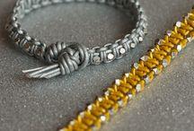 Bracelets Tutorial / by Claudia Sfingenera