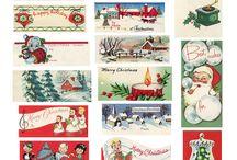 Vintage Christmas / by Alison Shaffer (kitchentable4.com)