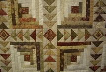 Quilts Log Cabin / by Lady Quilter