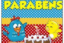 inspiracão festa da galinha pintadinha / by Alexiana Siana