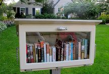 Community: Little Free Libraries / Take a Book, Leave a Book / by Roger Miller