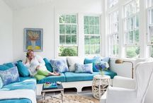 sunroom / by Connie Butner