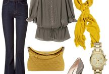 Fall outfits  / by Jessica Martin