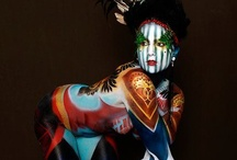 Theatrics / Stage make-up inspiration and how to's. / by Corin Garratt