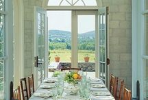 Dining spaces / by Jane Ross Fostervold