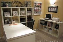 Creative Spaces / Sewing and craft rooms  / by Built by Briick Quilting
