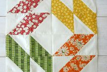 Quilting - HST (Half Square Triangles) / by Ellie Guhl