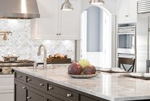 K&B Month: Tile that Wows! / Tile has made huge leaps and bounds over the years. From mother of pearl to mosaic, show us your favorite uses of tile in the kitchen & bath! / by The NKBA