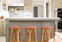 Kitchen Island Bar / Using different Kitchen Backsplash ideas which has the caliber to improve the look of your kitchen with less difficulty and low maintains. http://www.thekitchenbacksplashideas.com/ / by Kitchen Backplash