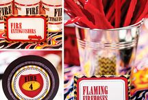 fire truck bday  / by Clarissa Nobles