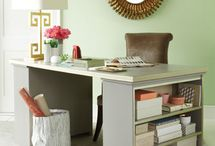 Desk ideas / by Adrienne Freas