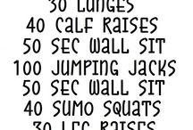 Workouts / by Bermeshia Thomas
