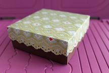 misc boxes and stamping items / by Sheila Dameron