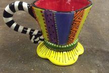 Ceramic Painting Ideas / by Tuwanna Rainbolt