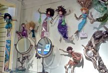 Dolls ~ Spirit; Goddess; Nature / Handmade Art Dolls, Goddess Dolls, Spirit Dolls; nature dolls; etc. This is a collection of dolls associated with nature and often using nature to make them. / by Kathy Skaggs