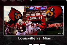 Countdown to Kickoff / The Louisville Cardinals are just 50 days away from their first kickoff in the ACC as they are very anxious to begin their 2014 Football season!! #GoCards #L1C4 / by Louisville Cardinals