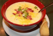 yummy soups / by Susan Bartlett