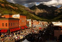 The Town of Telluride / Things to do, Places to go, People to meet... / by Telluride Blues & Brews Festival
