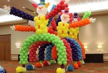 Decoracion con globos / by wanda morales