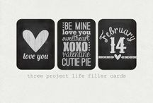 So Crafty: Project Life / Inspiration, freebies for project life / by Smirking Revenge