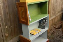 diy upcycled furniture  / by Holli Huling