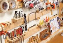 Woodworking Shop Ideas / by Mike Olsen