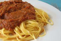 Sauces: Pasta / by Kathleen Ellis